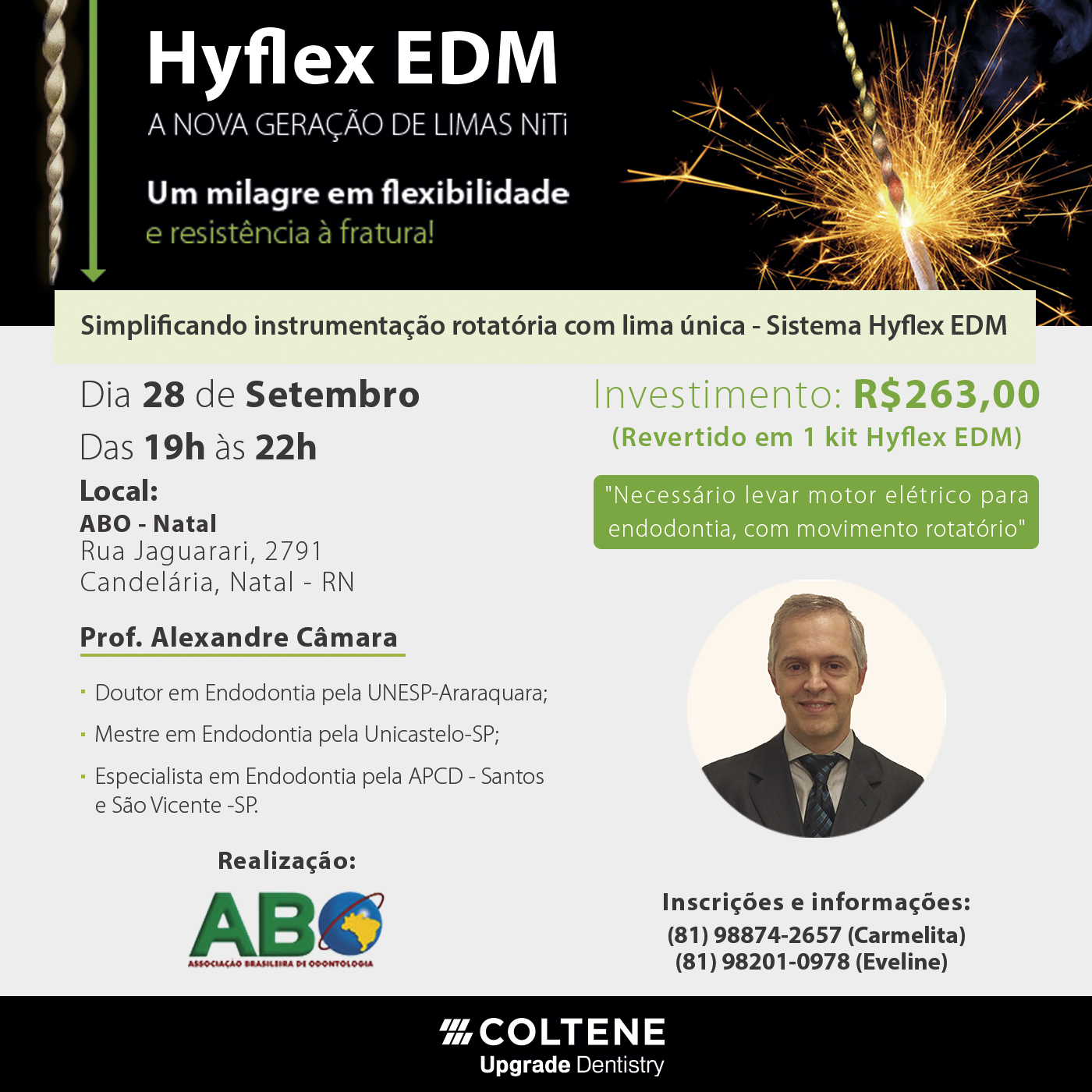 Hands On Hyflex EDM – 28.09.2017